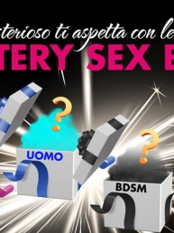 Un piacere misterioso ti aspetta con le Mystery Sex Box de