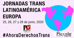 I JORNADAS TRANS ONLINE LATINOAMÉRICA/EUROPA 2020