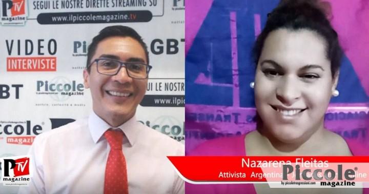 """Intervista a Nazarena Fleitas: """"Basta con i crimini d'odio"""""""