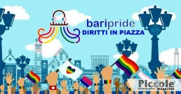 Bari Pride 2020: un'onda arcobaleno 'statica'