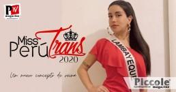MISS PERU TRANS 2020, un'edizione digitala di Bellezza di Alto Livello