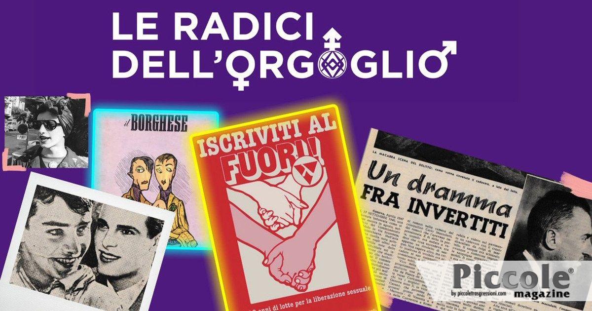 Le radici dell'orgoglio, il podcast sui 50 anni del Movimento Gay Italiano