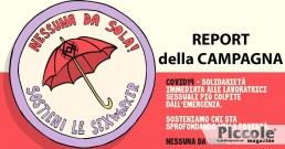 REPORT CAMPAGNA: Covid19 - Nessuna da sola!