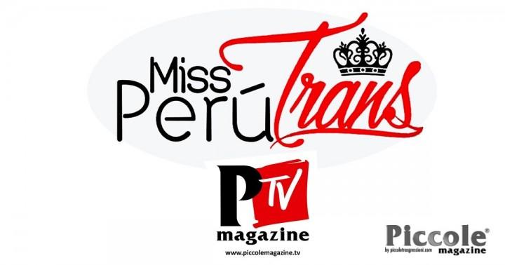 Daniel Jerez de Il Piccole Magazine, intervistato dallo staff del Miss Perù Trans 2020