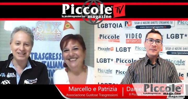 Intervista a MARCELLO E PATRIZIA, Presidenti dell'Associazione Gustose Trasgressioni