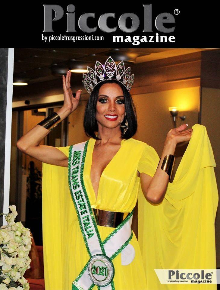 Intervista a Cleo Machado, vincitrice di Miss Trans Estate 2021: 'L'inizio di un sogno'