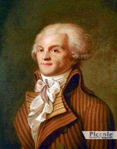 SATURNO nei segni di Fuoco e Acqua Robespierre