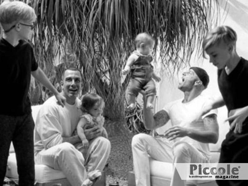 Famiglie arcobaleno: le coppie di papà famosi Ricky Martin