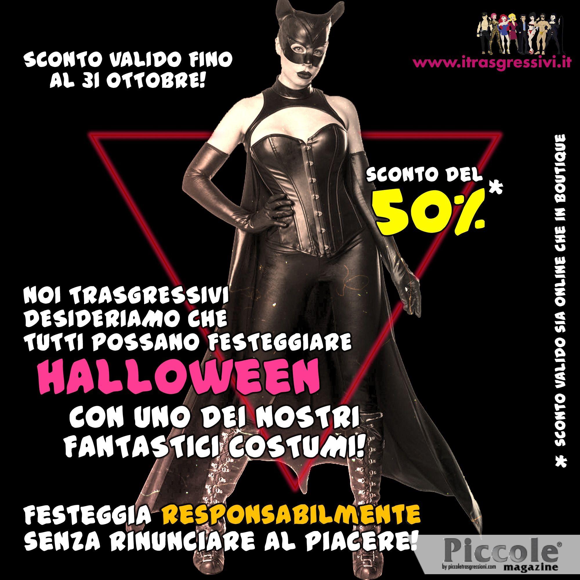 Halloween: festeggia responsabilmente senza rinunciare al piacere!