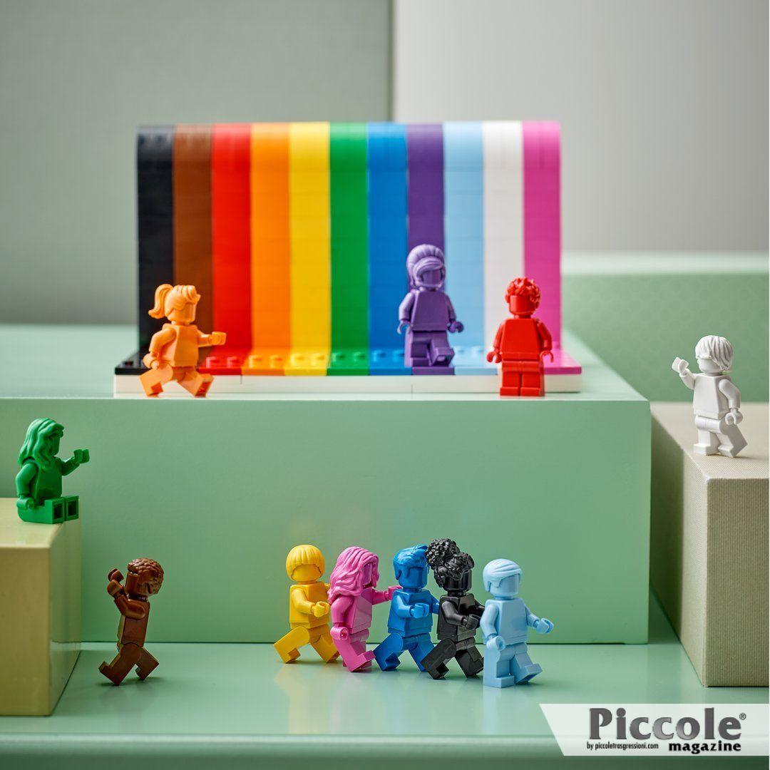 'Tutti sono Fantastici': ecco il primo set LGBT+ firmato LEGO