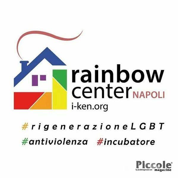 Pamela Andress volontaria Rainbow Center Napoli