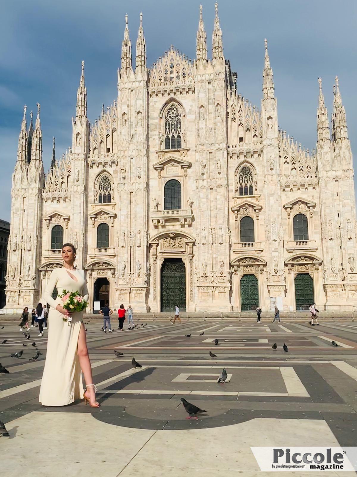 Sarah Benitty, un matrimonio brioso