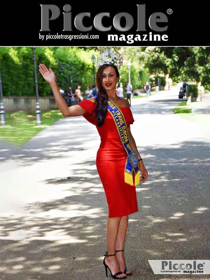 Fabiana Alves, vincitrice Miss Trans Europa 2017