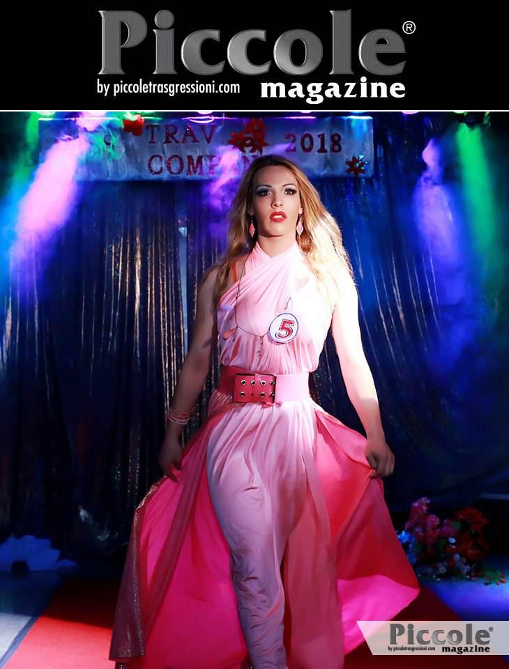 Luciana Speranza grinta e glamour al Miss Trav Company 2018
