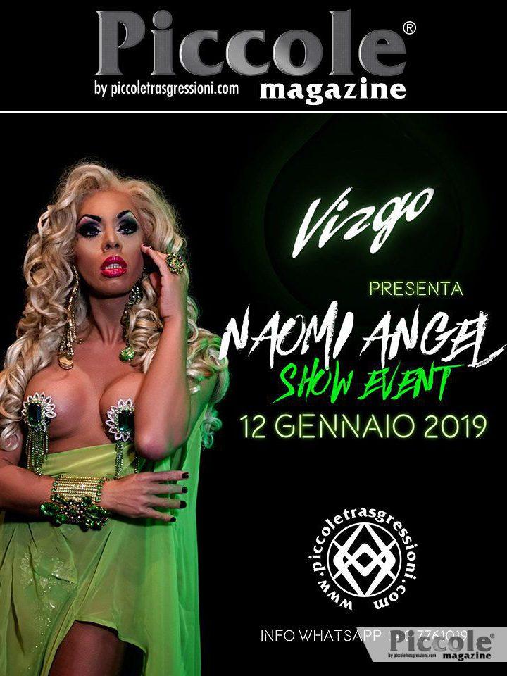 Naomi Angel: ' vi aspetto alla discoteca Virgo di Genova'