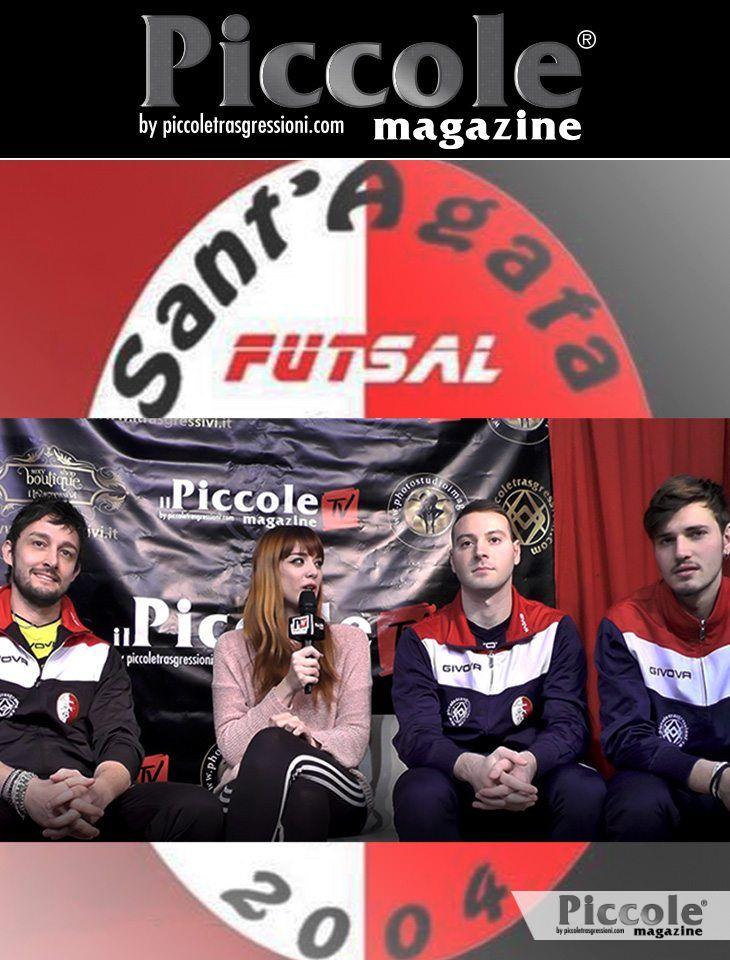 Intervista ai giocatori del Sant'Agata Futsal 2004