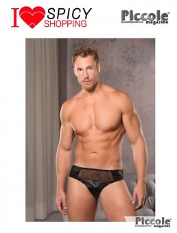 LOW CUT FISHNET BRIEFS BLACK – ALLURE