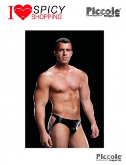 LOW RISE JOCK BLACK – ENVY MENSWEAR