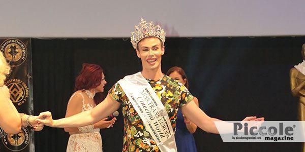Angelo Sanzio, ospite al Miss Trans Europa 2018