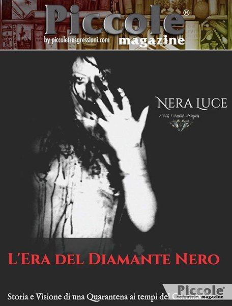 Foto copertina del libro L'Era del Diamante Nero: Storia e Visione di una Quarantena ai Tempi del Coronavirus di Nera Luce