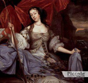 Lady Castlemaine amante del cugino Carlo II d'Inghilterra