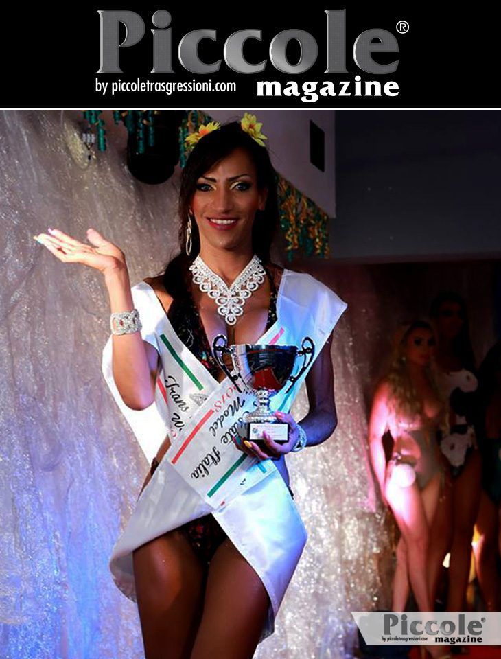 Laurinha Diniz seconda classificata al Miss Trans Estate 2018