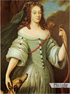 Louise de la vallière amante di Re Luigi XIV