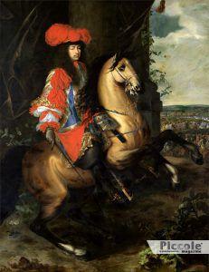 L' AMANTE E LA TANGENTE: Luigi XIV