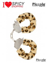 FURRY FUN CUFFS LEOPARD - TOY JOY