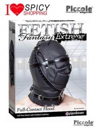 Maschera soundproof Leather hood Pipedream