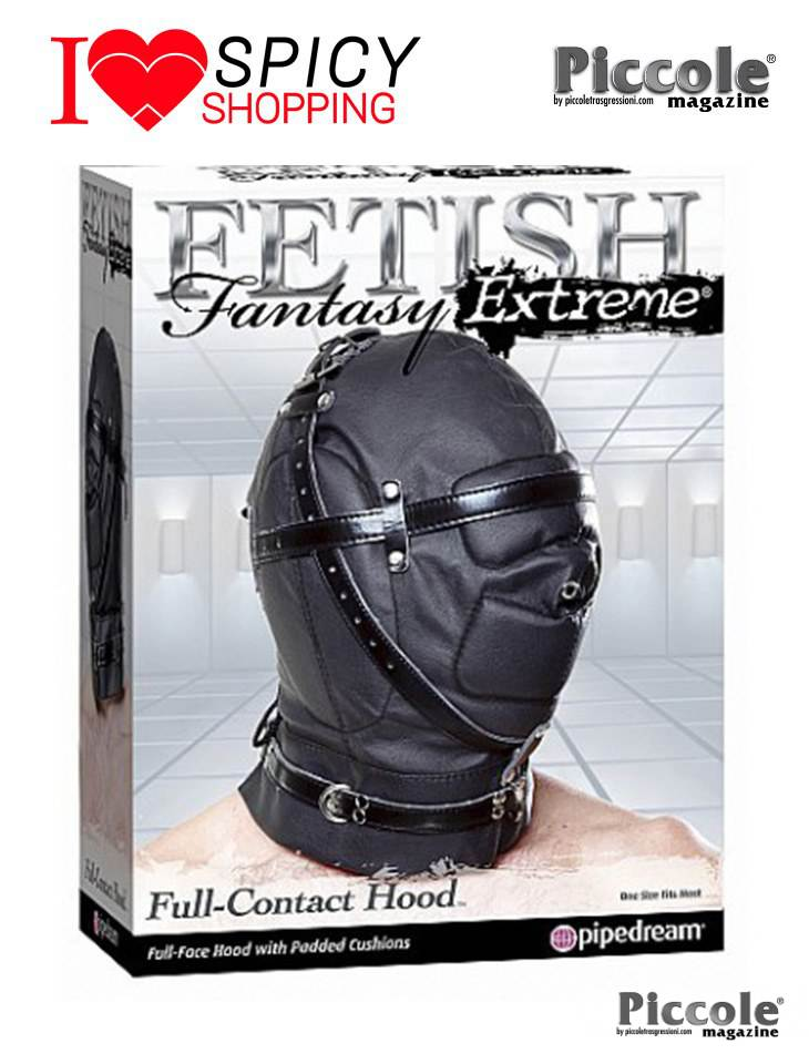 Maschera soundproof Leather hood Pipedream