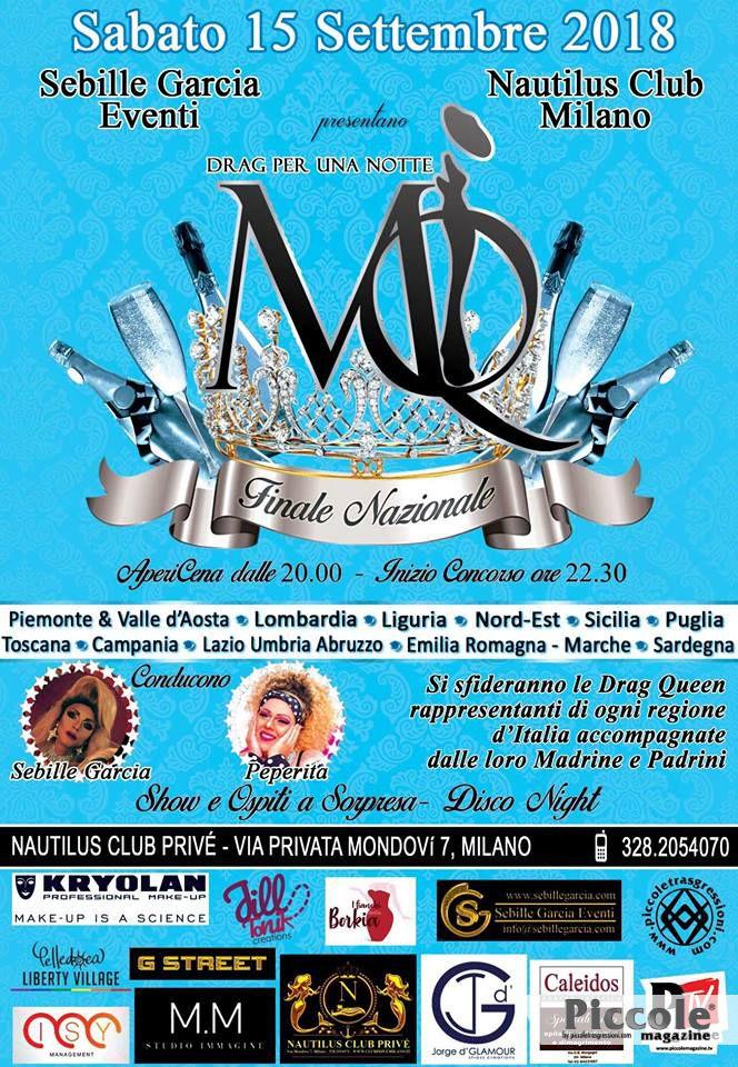 Master Queen Italia 2018 - La Finale