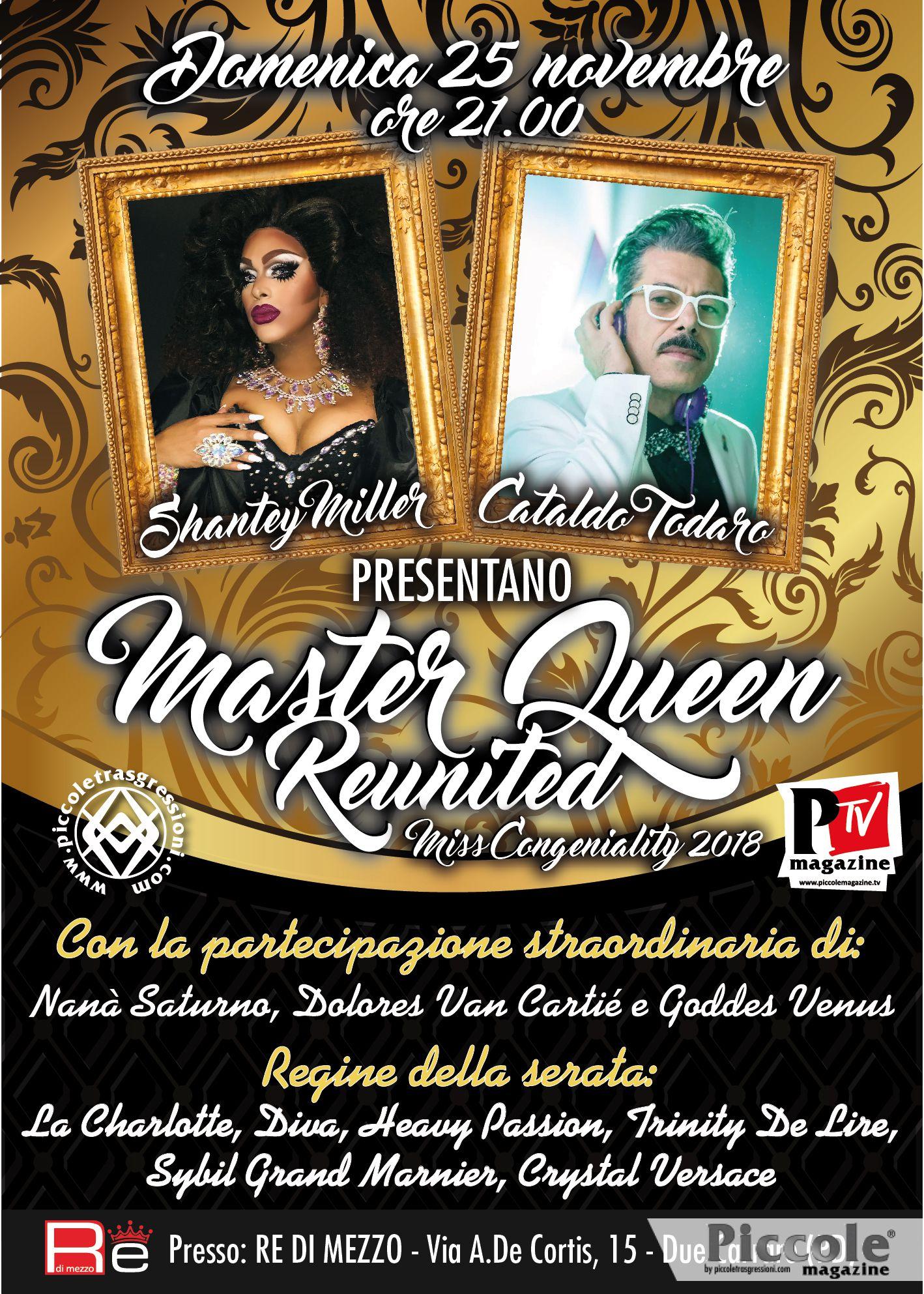 Master Queen Reunited