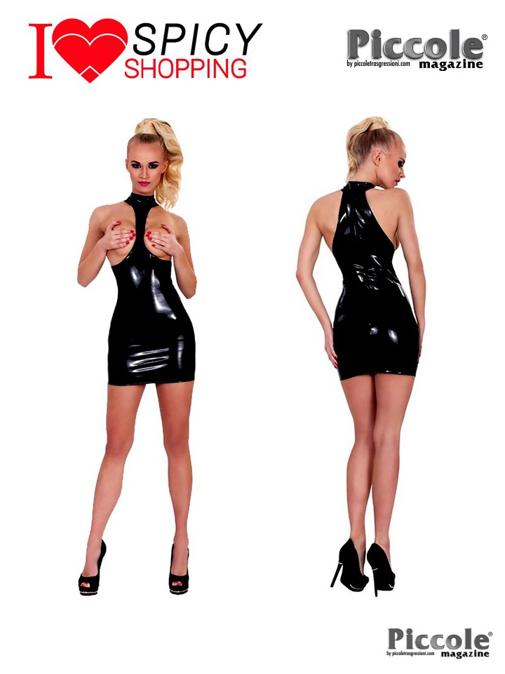 Abito mini dress in latex by Guilty Pleasure