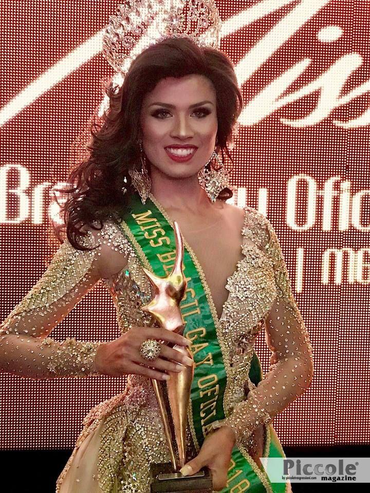 Yakira Queiroz è Miss Brasil Gay 2018
