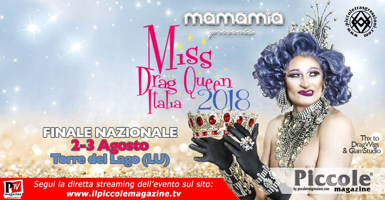 Miss Drag Queen Italia 2018 - La Finale