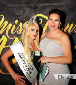 la vincitrice del Miss Trans Abruzzo 2018 - Pamela Viana
