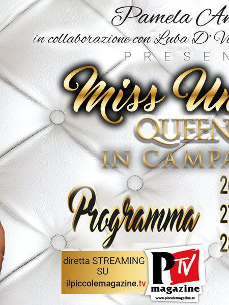 Miss Universo Queen T in Campania 2018