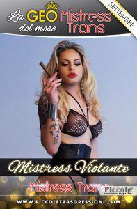 Geo Agosto 2018 Mistress Trans