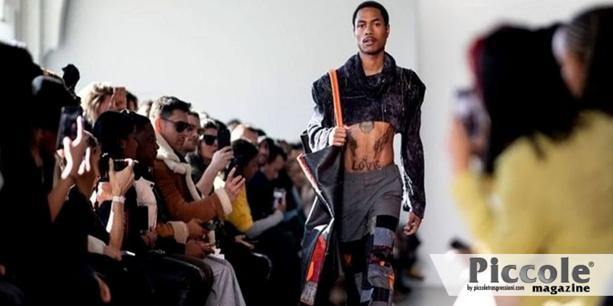 Pierre Davis è la prima designer transgender a sfilare alla New York Fashion Week