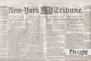MOGLIE DEL COLONNELLO: New York Tribune