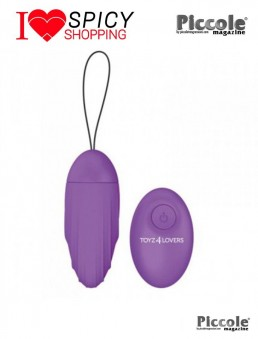 ELYS RIPPLE EGG REMOTE CONTROL PURPLE - TOYZ4LOVERS
