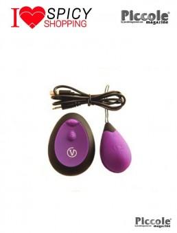 Ovulo Vibrante Wireless - Remote Control Egg Ricaricabile G1 Viola – Virgite