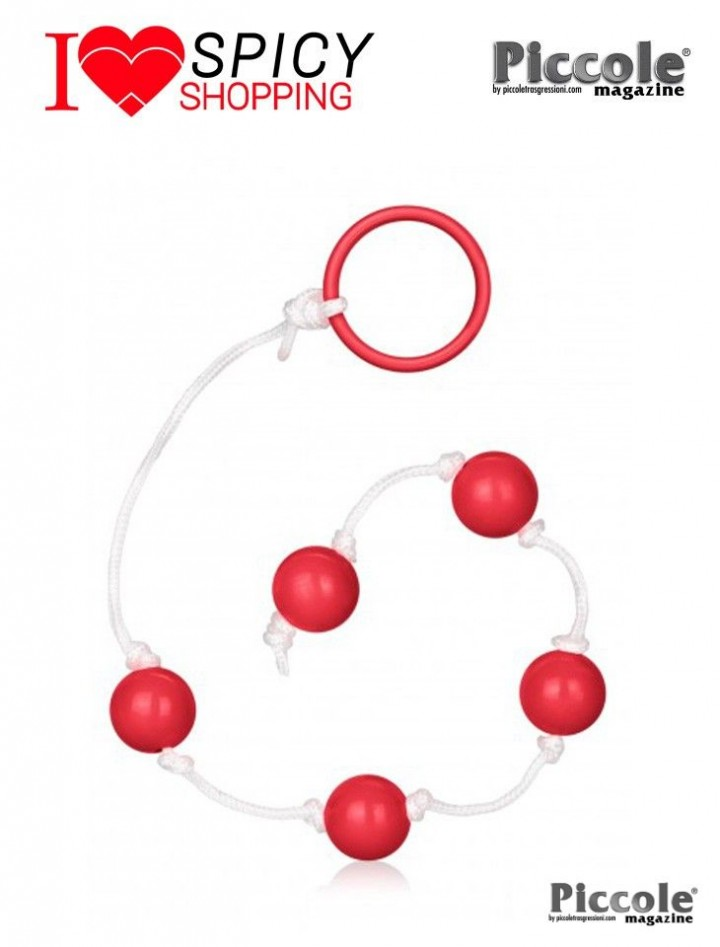 SMALL BEADS RED - CALIFORNIA EXOTIC NOVELTIES
