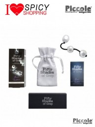 Palline Vaginali Silver Pleasure Balls - Fifty Shades Of Grey