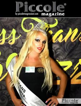 Pamela Viana vincitrice del Miss Trans Abruzzo 2018