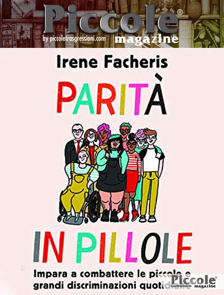 Foto copertina del libro Parità in pillole di Irene Facheris