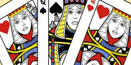 Regine di cuori e la regina di picche