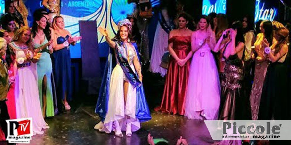 Michel Ariadna Grimal è Miss Trans Star Argentina 2019!