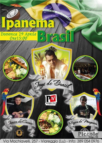 Junior do Cavaco si esibisce al ristorante Ipanema Brasil di Viareggio